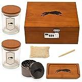 Stash Box 2.0 Premium Wood. The Complete Kit....