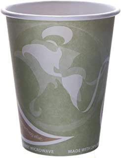 Eco-Products Evolution World 24% Recycled Content Hot Cups, 12 oz, Case of 1000 (EP-BRHC12-EW)