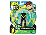 Figurita de acción de la serie de dibujos Ben 10, plástico, Ben 10 - Figura de acción con cabeza de diamante , color/modelo surtido