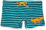 Beco Jungen Badehose Krokodil-Aqua Schwimmkleidung, Blau-Schwarz, 86