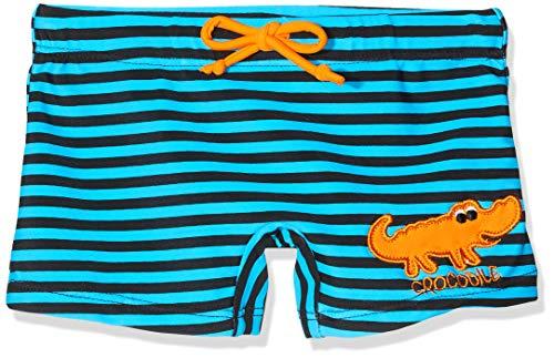Beco Jungen Badehose Krokodil-Aqua Schwimmkleidung, Blau-Schwarz, 110