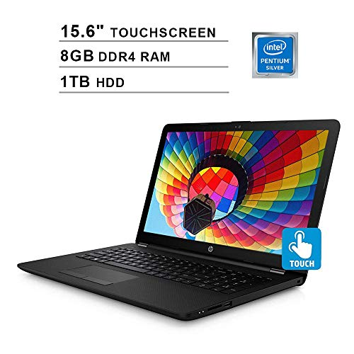 HP Pavilion 15 Newest 15.6 Inch Touchscreen Premium Laptop - Intel Pentium 4-Core N5000 1.10GHz Up to 2.70GHz, Intel UHD 605, 8GB RAM, HDMI, 1TB HDD, WiFi, Bluetooth, Windows 10