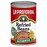 La Preferida Refried Pinto Beans, Authentic, 16 oz (Pack of 6)