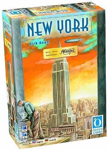 buena reputación New York Multi Language Board Game Game Game by Queen Games  Sin impuestos