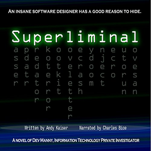 Superliminal audiobook cover art