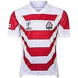 Maillots à l'extérieur de la Coupe du Monde 2019 à Jersey Rugby Japon Hommes (Size : L)