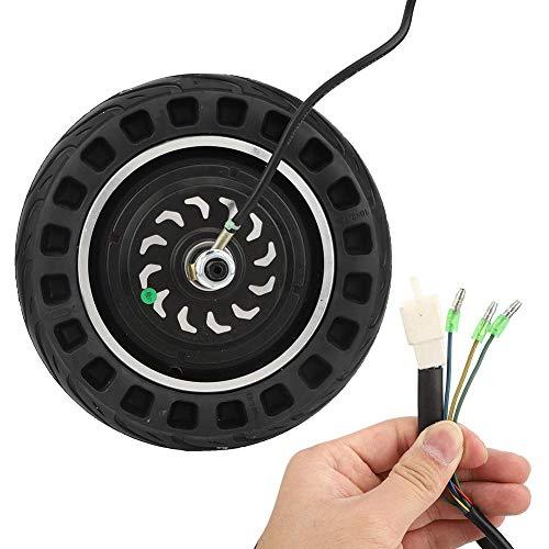 Neumático de 10 pulgadas con motor de cubo de rueda, neumático de...