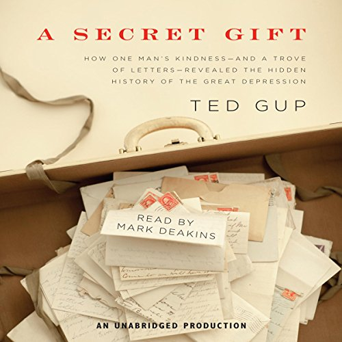A Secret Gift audiobook cover art