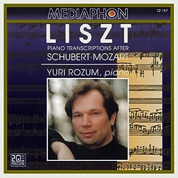 Franz Liszt: Piano Transcriptions After Schubert & Mozart