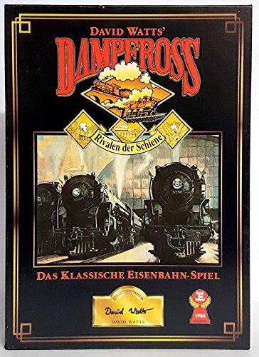 Dampfross von Laurin - Rivalen der Schiene - [Brettspiel].