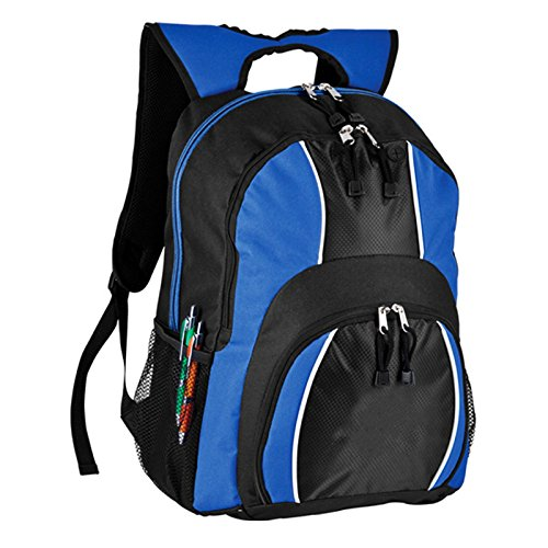 World Traveler Spiffy 17 Inch Laptop Backpack, Blue, One Size