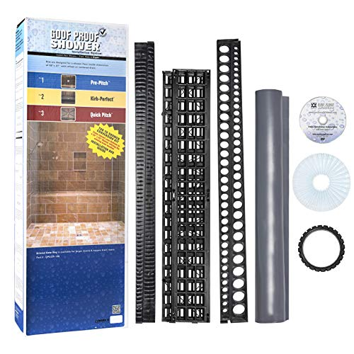 Bathtub to Shower Conversion Kit with Pan Liner SSCK-701 DELUXE