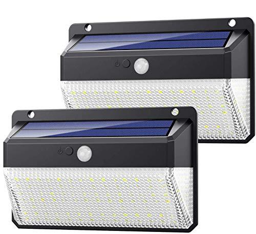 Yacikos Luz Solar Exterior 108 LED, 270°Super Brillante-220