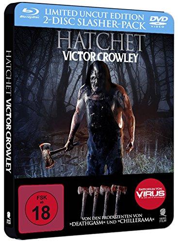 Hatchet - Victor Crowley (Uncut) [Blu-ray + DVD] [Limited Special Steelbook Edition] (vorab exklusiv bei Amazon) [Alemania] [Blu-ray]