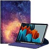 Fintie Funda Giratoria para Samsung Galaxy Tab S7 11' 2020 - Rotación de 360 Grados Carcasa con Auto-Reposo/Activación para Modelo SM-T870/T875, Galaxia