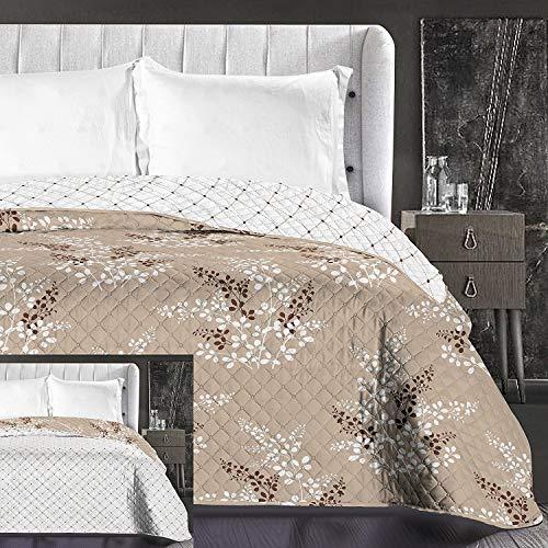 noir 50x71 Exclusivo Mezcla Couvre-lit en flanelle avec motif gaufr/é Throw