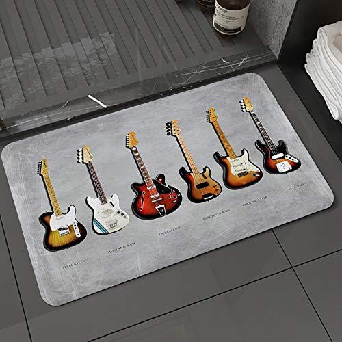 Alfombra de baño y Alfombra antideslizanteFender Stratocaster Telecaster Bass de precisión Mustang...