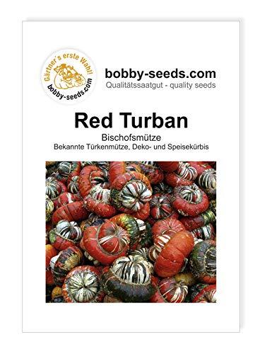 Red Turban Bischofsmütze Kürbissamen von Bobby-Seeds, Portion
