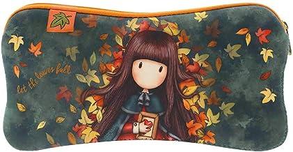 SANTORO GORJUSS 271GJ32, Funda Neopreno Autumn Leaves para Mujer, Verde, 22 x 11,3 x 1 cms