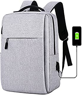 Anti-Theft Travel Laptop Backpack with USB Charging Port Water Resistant Durable College School Computer Bookbag for Wome...