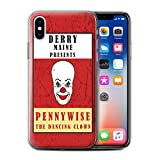 Hülle Für Apple iPhone XS Horrorfilm Inspiriert Clown