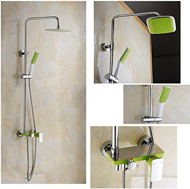 Gro-und Einzelhandel Frderung Chrome Brass8 Regen Dusche Wasserhahn Set Badewanne Dusche Mischbatterie Dusche
