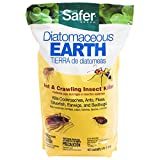 Safer 51703 Diatomaceous Earth-Bed Bug Flea, Ant, Crawling Insect...