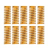 ▲Los muelles están hechos de material de aleación de acero importado. 10 piezas mueren resortes. ▲Compatible con la mayoría de las impresoras 3D, resistente y duradero para mantener nivelada la cama caliente. ▲Compatible con Creality CR-7, CR-8, CR-1...