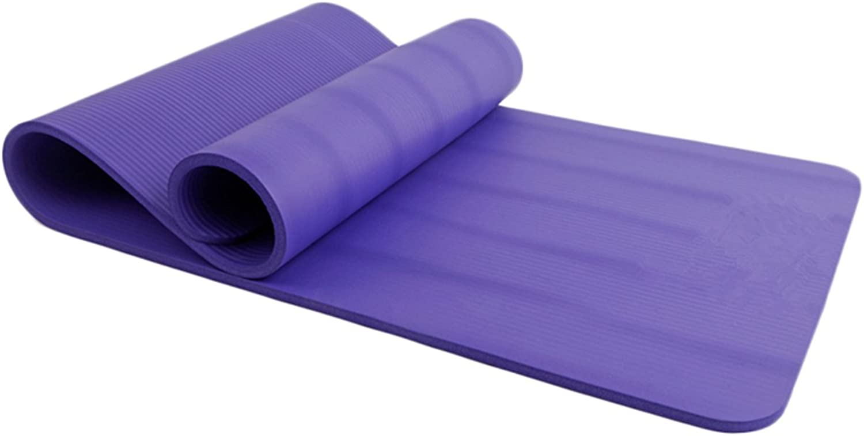 High Density NBR Yoga Mat Thick Exercise Yoga Mat 15mm