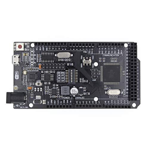 Czyu. MEGA2560 + WiFi R3 ATMGA2560 + ESP8266 32MB-Speicher USB-TTL CH340G.Kompatibel für Arduino Mega Nodemcu Fit für WEMOS MEGA 2560
