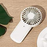 DZCGTP Mini portátil fam, Fan Fan Mini Ventilador portátil para el hogar para Viajes al Aire Libre, Azul
