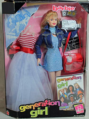 Generation Girl Barbie Doll w Extra Fashions & More! (1998)