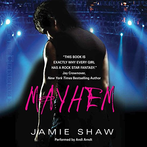 Mayhem audiobook cover art