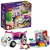 LEGO Friends 41439 Peluquería Felina Móvil Coche de Juguete para Niños y Niñas de +4 años con Gatitos y Mini Muñecas