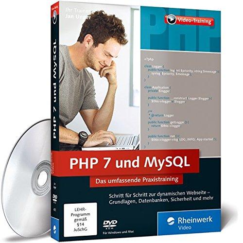mächtig PHP7 und MySQL.  Umfassende praktische Ausbildung.  Entwickeln Sie dynamische Websites und Datenbanken…