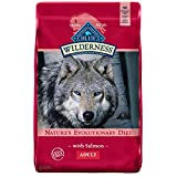Blue Buffalo Wilderness High Protein Grain Free Natural Adult Dry Dog Food, Salmon 11-lb