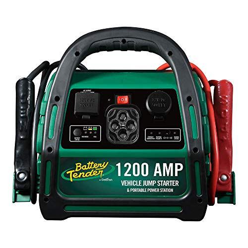 Battery Tender 1200 Amp Power Station: Portable Battery Charger 1200 Amp Automotive Jump Starter for Cars, Trucks, SUVs, ATVs, and More - Smart 1200A Automotive Battery Jump Starters - 030-0006-WH