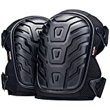 NoCry Professional Knee Pads with Heavy Duty Foam Padding and...