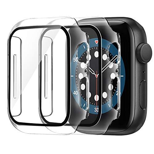AsBellt Protector Pantalla para Apple Watch 44mm Series 6 5 4 SE...