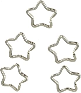 star shaped keyring