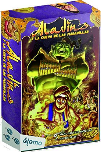 Last level- Aladino Y La Cueva De Las Maravillas (Eng-SPA) Juegos de Mesa, Multicolor (BGALADINO)