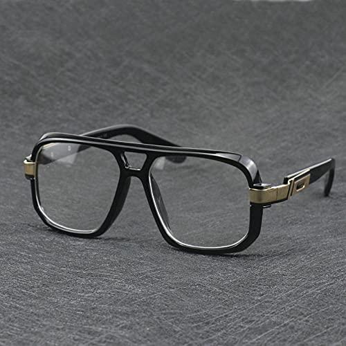 N/A Gafas de Sol para Hombre Gafas de Sol para Mujer Nuevo Marco Cuadrado Grande para Hombre, Ropa Formal, Gafas de Sol Casuales, Gafas de Hip Hop