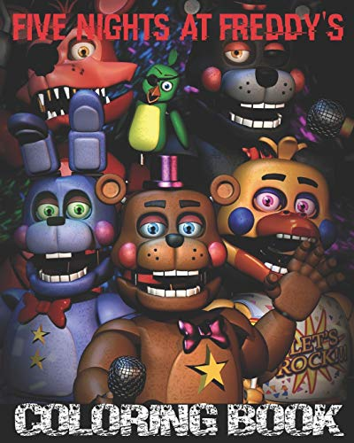 Five Nights at Freddy's Coloring Book:...