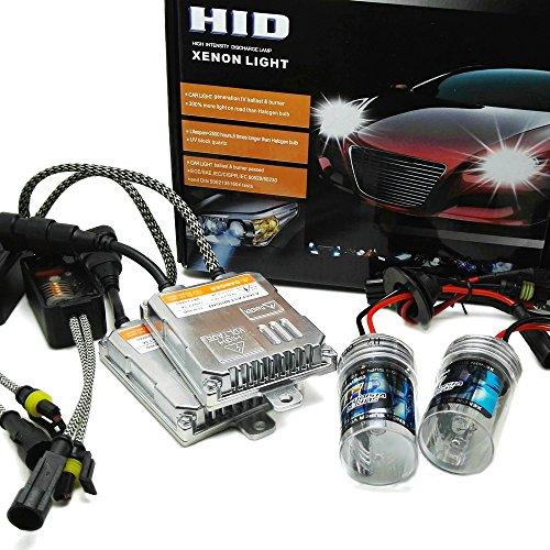 Heinmo - Kit d'ampoules H7 9005 9006 xénon HID ballast pour voiture - Ampoule de phare 4300 K, 6000 K, 8000 K - AC 55 W H8 H9 H11
