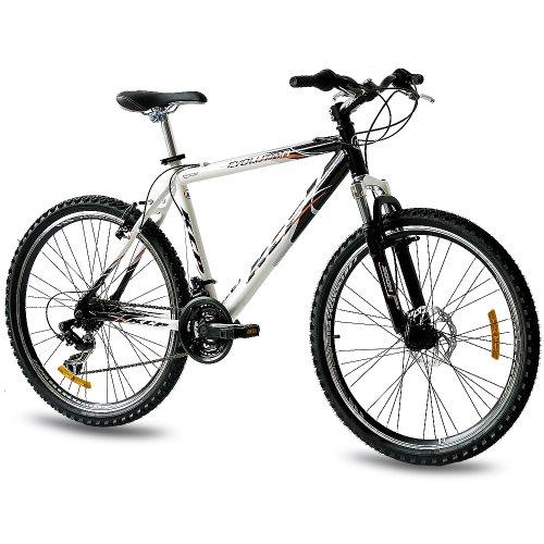 KCP 26 Zoll Mountainbike Hardtail - Evolution Gent - Mountain Bike mit 18 Gang Shimano Tourney Kettenschaltung - MTB Fahrrad für Herren mit Federgabel