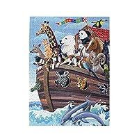 500ピース ジグソーパズル 動物の冒険 大海 パズル 木製パズル 動物 風景 絵 ピクチュアパズル Puzzle 52.2x38.5cm