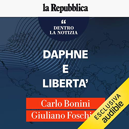 Daphne e la libertà audiobook cover art