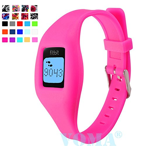 for USA Fitbit Zip Wristband/Fitbit Band/Fitbit Zip Band/Fitbit Wristband/Fitbit Bracelet/Fitbit Zip Replacement Band(Hot Pink)
