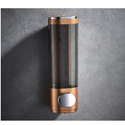 GangKun zeepdispenser voor huishoudelijk gebruik, van wand, zonder stempel, zeep 300ml- D'oro