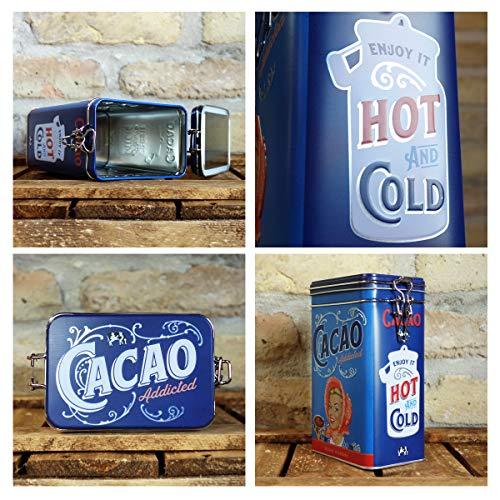Nostalgic-Art Latas Say it 50's, Metal, Say It 50's - Cacao Addicted, 11 x 8 x...